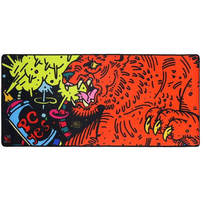 MOUSE PAD GAMER PCYES TIGER 90X42CM PMT90X42