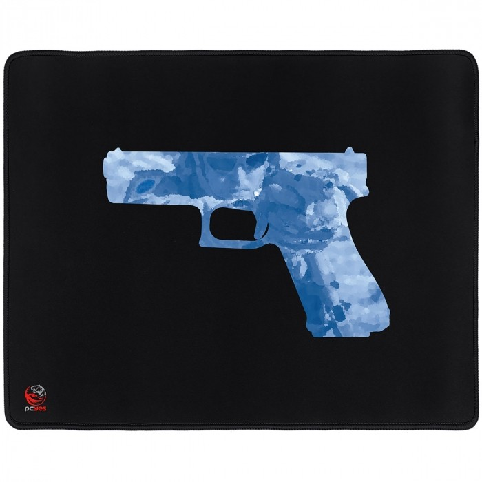 MOUSE PAD GAMER PCYES FPS GLOCK 50X40CM PMG50X40