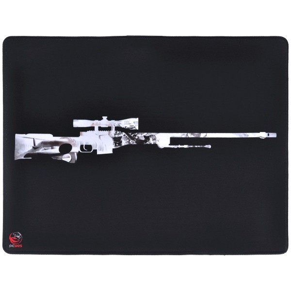 MOUSE PAD GAMER PCYES FPS SNIPER 50X40CM FS50X40